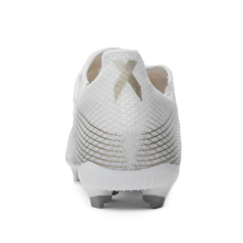 adidas X Ghosted .3 FG/AG Inflight - Footwear White/Metallic Gold/Silver Metallic