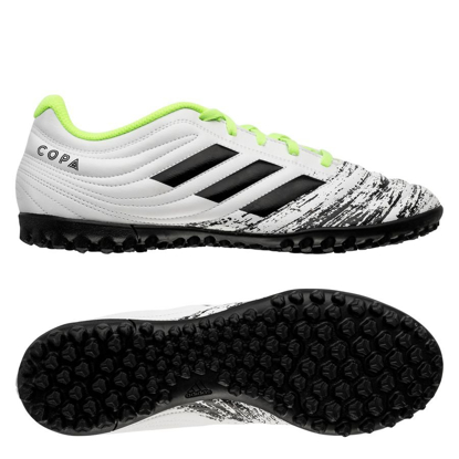 adidas Copa 20.4 TF Uniforia - Footwear White/Core Black/Signal Green