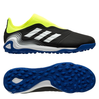 adidas Copa Sense .3 Laceless TF Superlative - Core Black/Footwear White/Solar Yellow