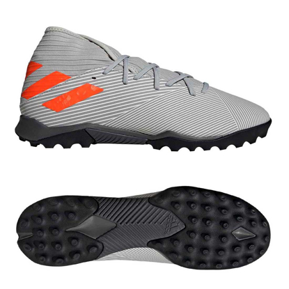 adidas Nemeziz 19.3 TF - Grey/Solar Orange/Chalk