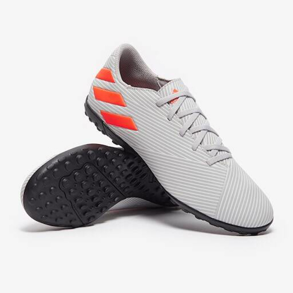 adidas Nemeziz 19.4 TF - Grey/Solar Orange/Chalk