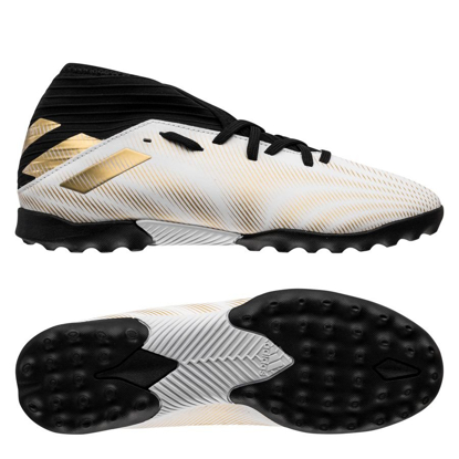 adidas Nemeziz .3 TF Atmospheric - Footwear White/Gold Metallic/Core Black Kids