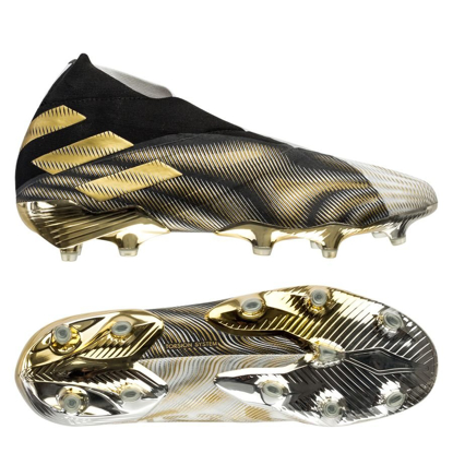 adidas Nemeziz + FG/AG Atmospheric - Footwear White/Gold Metallic/Core Black