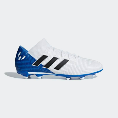 adidas Nemeziz Messi 18.3 FG WHITE / CORE BLACK / BLUE