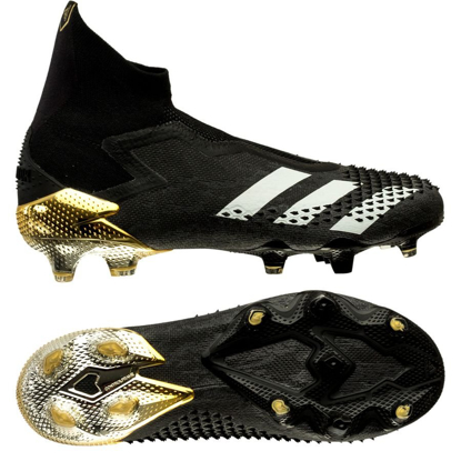 adidas Predator 20+ FG/AG Atmospheric - Core Black/Footwear White/Gold Metallic