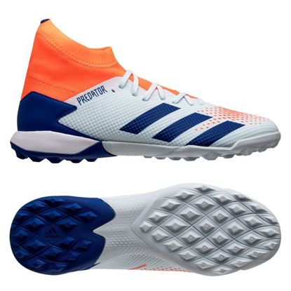 adidas Predator 20.3 TF Glory Hunter - Sky Tint/Royal Blue/Signal Coral