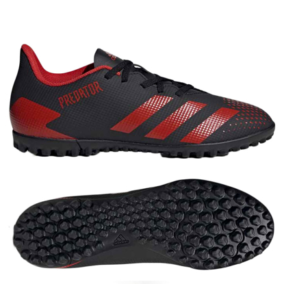 Adidas Predator 20.4 TF EE9585 - Core Black / Active Red / Core Black