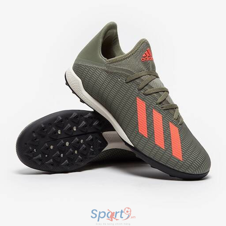 adidas X 19.3 TF - Legacy Green/Solar Orange/Chalk
