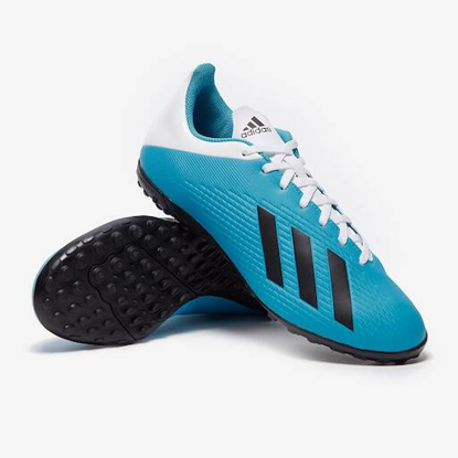 adidas X 19.4 TF - Bright Cyan/Core Black/Pink