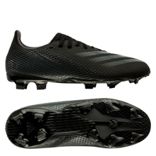 adidas X Ghosted .3 FG/AG Superstealth - Core Black/Grey Six Kids