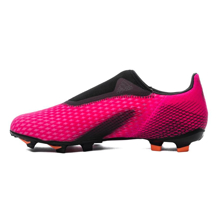 adidas X Ghosted .3 Laceless FG/AG Superspectral - Shock Pink/Core Black/Screaming Orange