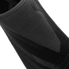 adidas X Ghosted .3 Laceless FG/AG Superstealth - Core Black/Grey Six