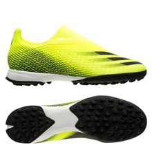 adidas X Ghosted .3 Laceless TF Superlative - Solar Yellow/Core Black/Royal Blue