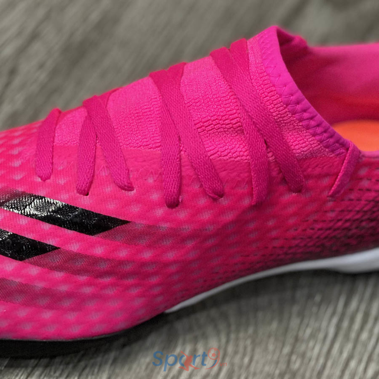 adidas X Ghosted .3 TF Superspectral - Shock Pink/Core Black/Screaming Orange