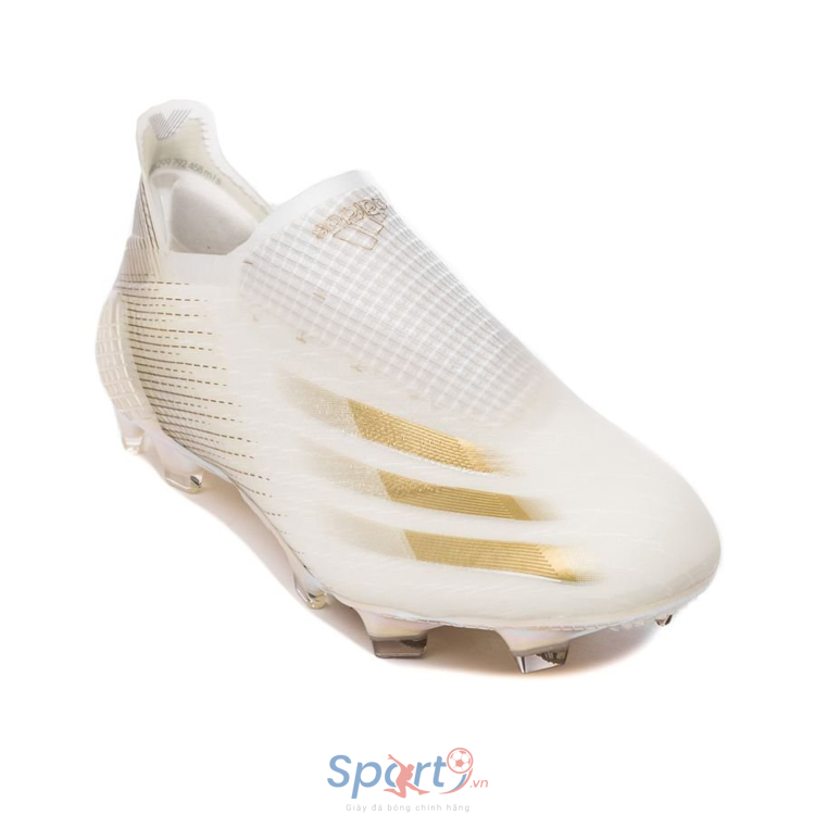 adidas X Ghosted + FG/AG Inflight - Footwear White/Metallic Gold/Core Black
