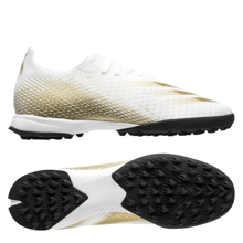 adidas X Ghosted.3 TF EG8199 Inflight - Cloud White/Met.Gold Melange/Core Black