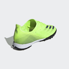adidas X Ghosted.3 TF EG8202 Precision To Blur - Signal Green/Energy Ink/Black