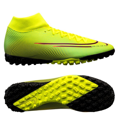 Nike Mercurial Superfly 7 Academy MDS TF BQ5435-703 Lemon Venom/Aurora/Black