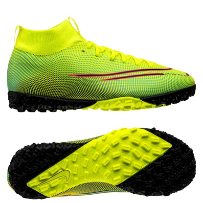 Nike Mercurial Superfly 7 Academy TF Dream Speed 2 - Lemon Venom/Black/Aurora Green Kids