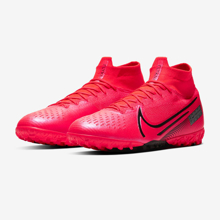 Nike Mercurial Superfly 7 Elite TF AT7981-606 Laser Crimson/Black