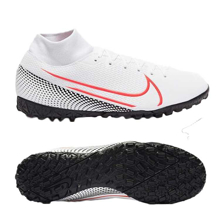 Nike Mercurial Superfly VII Academy TF AT7978-160 White/Laser Crimson/ Black