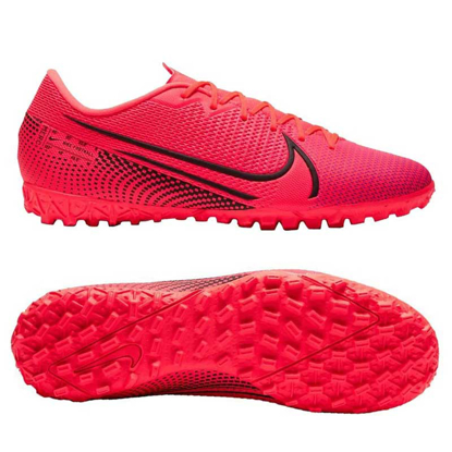 nike Mercurial Vapor 13 Academy TF AT7996-606 Laser Crimson/Black