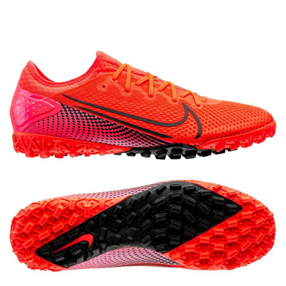 Nike Mercurial Vapor 13 Pro TF AT8004-606 Laser Crimson/Laser Crimson/Black