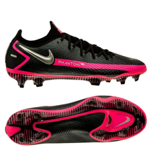 Nike Phantom GT Elite FG - Black/Metallic Silver/Pink Blast