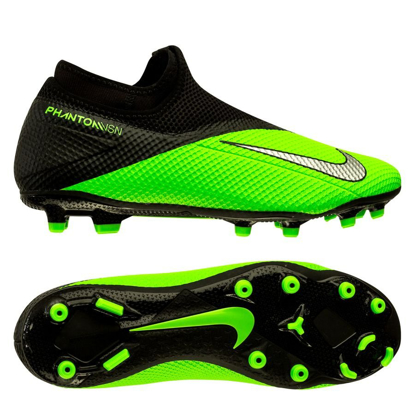 Nike Phantom Vision 2 Academy DF MG LAB2 - Green Strike/Metallic Platinum/Black