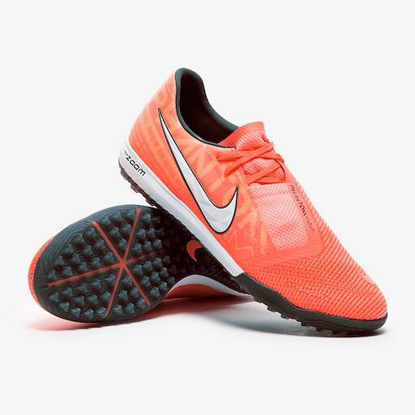 Nike Phantom VNM Zoom Pro TF - Bright Mango/White