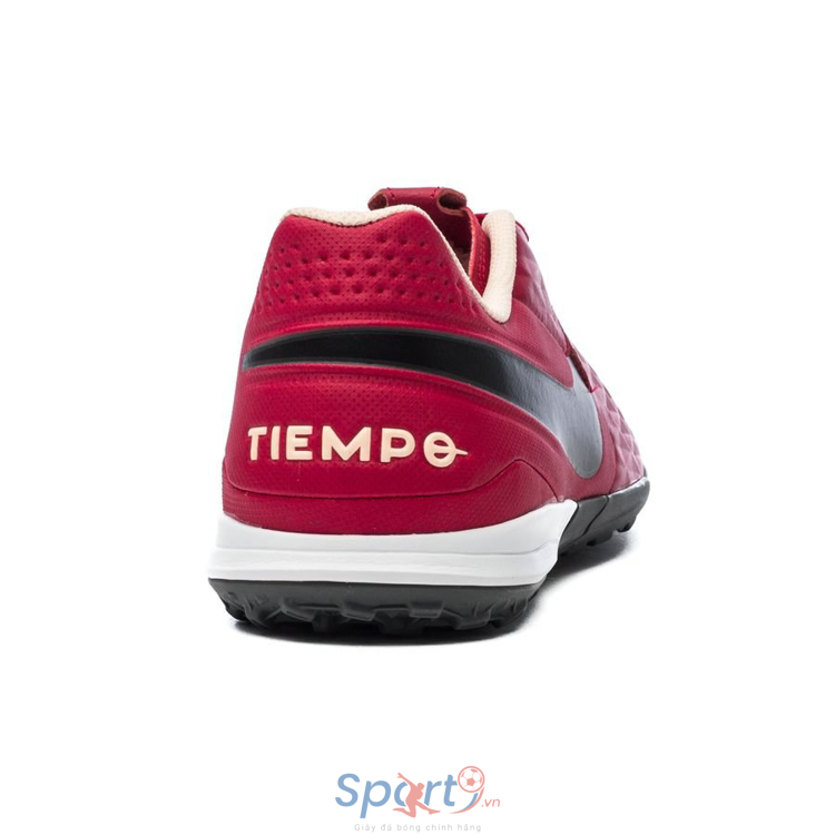 Nike Tiempo Legend 8 Academy TF Play Mode - Cardinal Red/Black/Crimson Tint/White