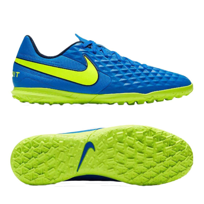 Nike Tiempo Legend 8 Club TF AT6109-474 Soar/Midnight Navy/Barely Volt/Volt