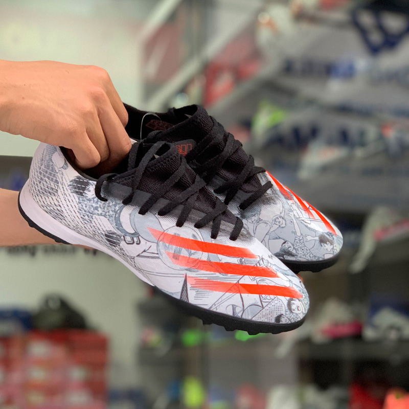 Giày đá bóng adidas X Ghosted.3 TF FW5831 - Ftwr White/Solar Red/Core Black