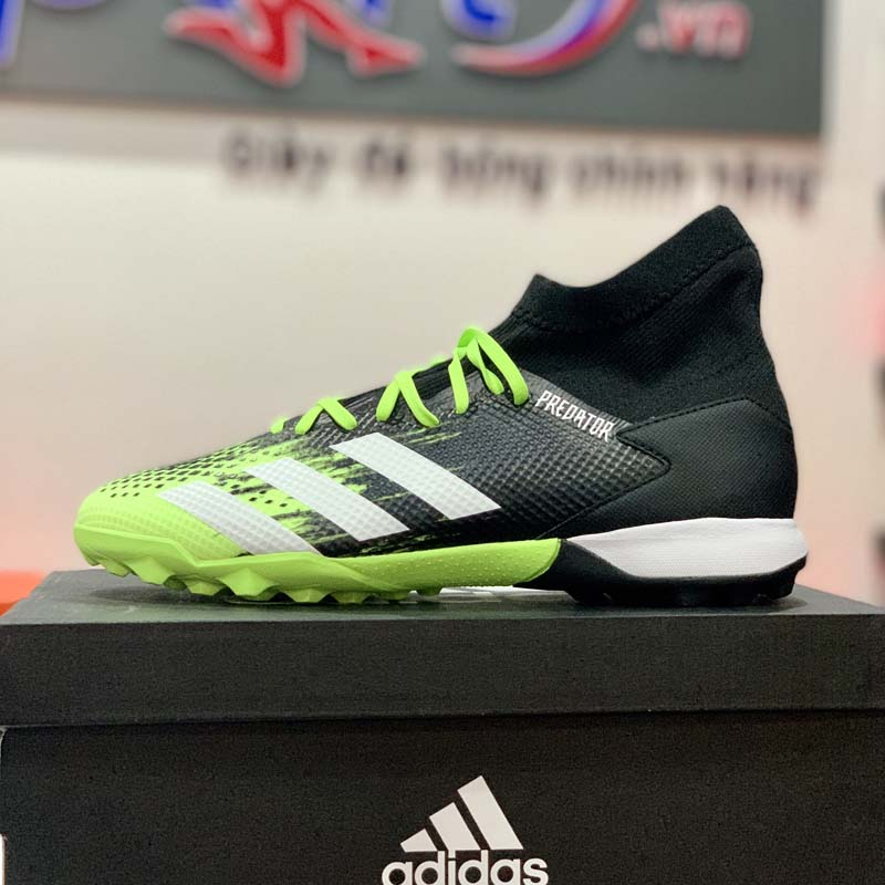 adidas Predator 20.3 TF Precision To Blur - Signal Green/Footwear White/Core Black - EH2912