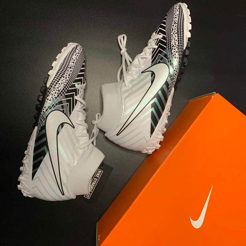 Nike Mercurial Superfly 7 Academy MDS 003 TF - White/Black/White -BQ5435-110
